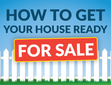 How to Get Your House Ready for Sale - Graphic