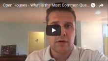 What is the most common open house question